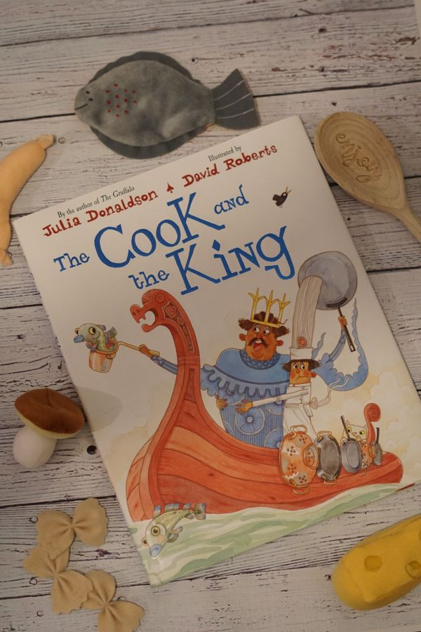Julia Donaldson: The Cook and the King