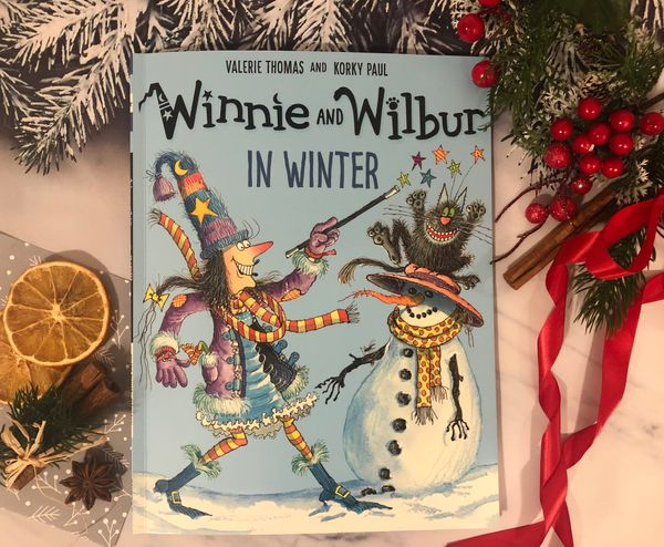 Valerie Thomas: Winnie and Wilbur in Winter